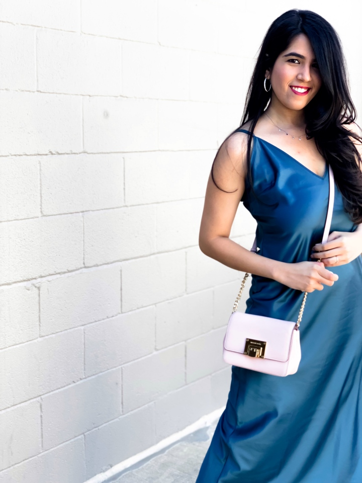 how to style slip dress